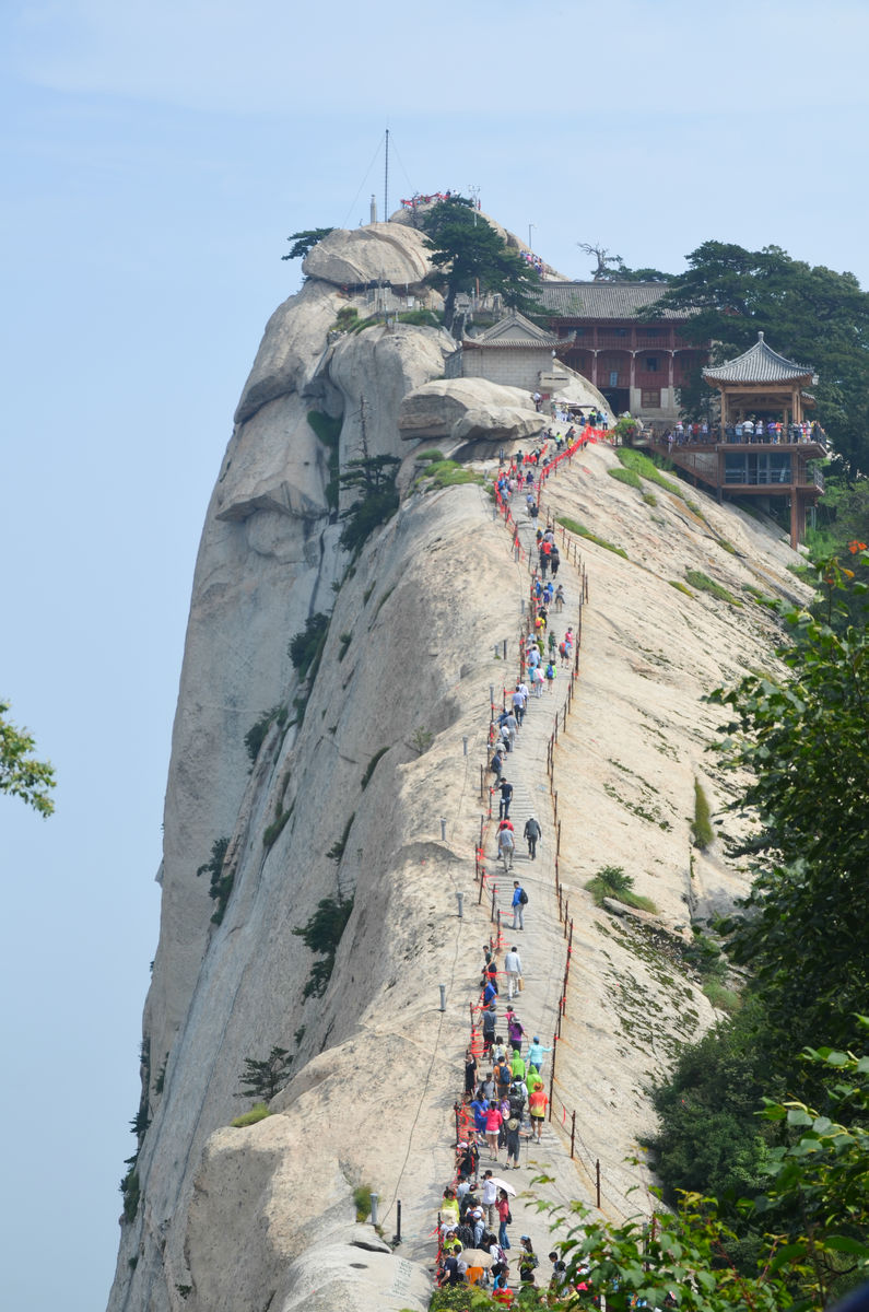 华山 西峰图片
