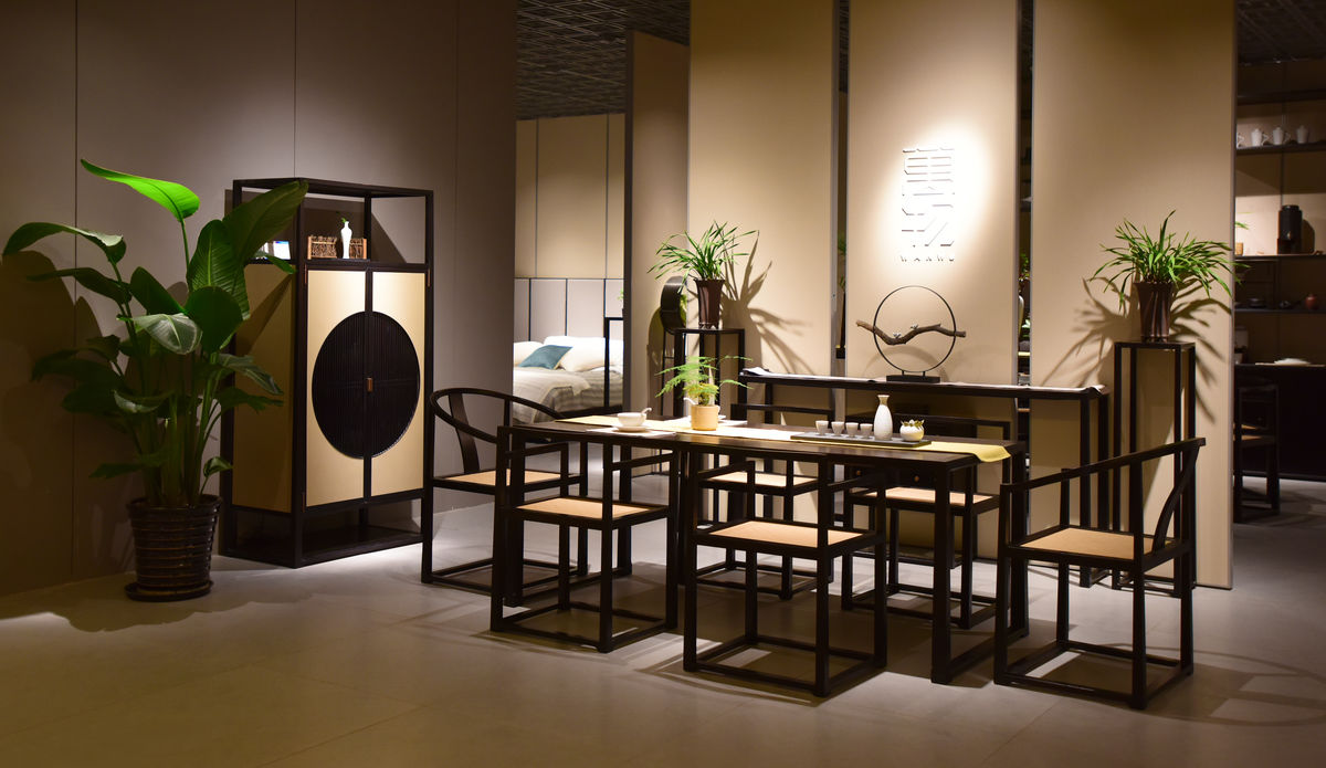 新中式,家居,中式家具,书房,传统风格,古风家具,中国风,茶室,雅致图片