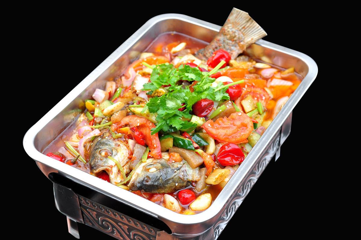 番茄烤鱼,烤鱼,番茄鱼,特色烤鱼,农夫烤鱼图片