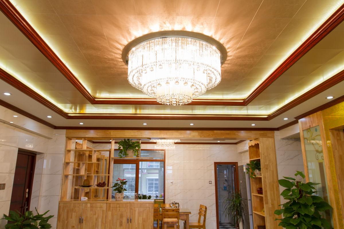 现代家居 客厅吊顶吊灯图片