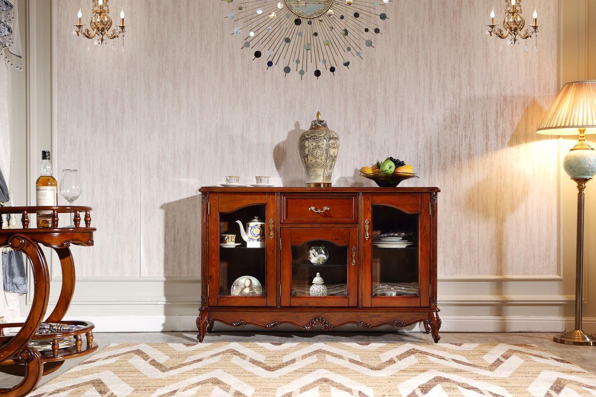 餐边柜,时尚家居,高端定制家具,古典家具,实木家具,欧美风格,欧式图片