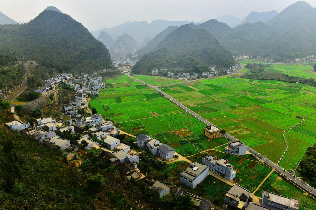 田园风光,美丽乡村,贵州风光,多彩贵州,万峰林景区,兴义万峰林,中国图片