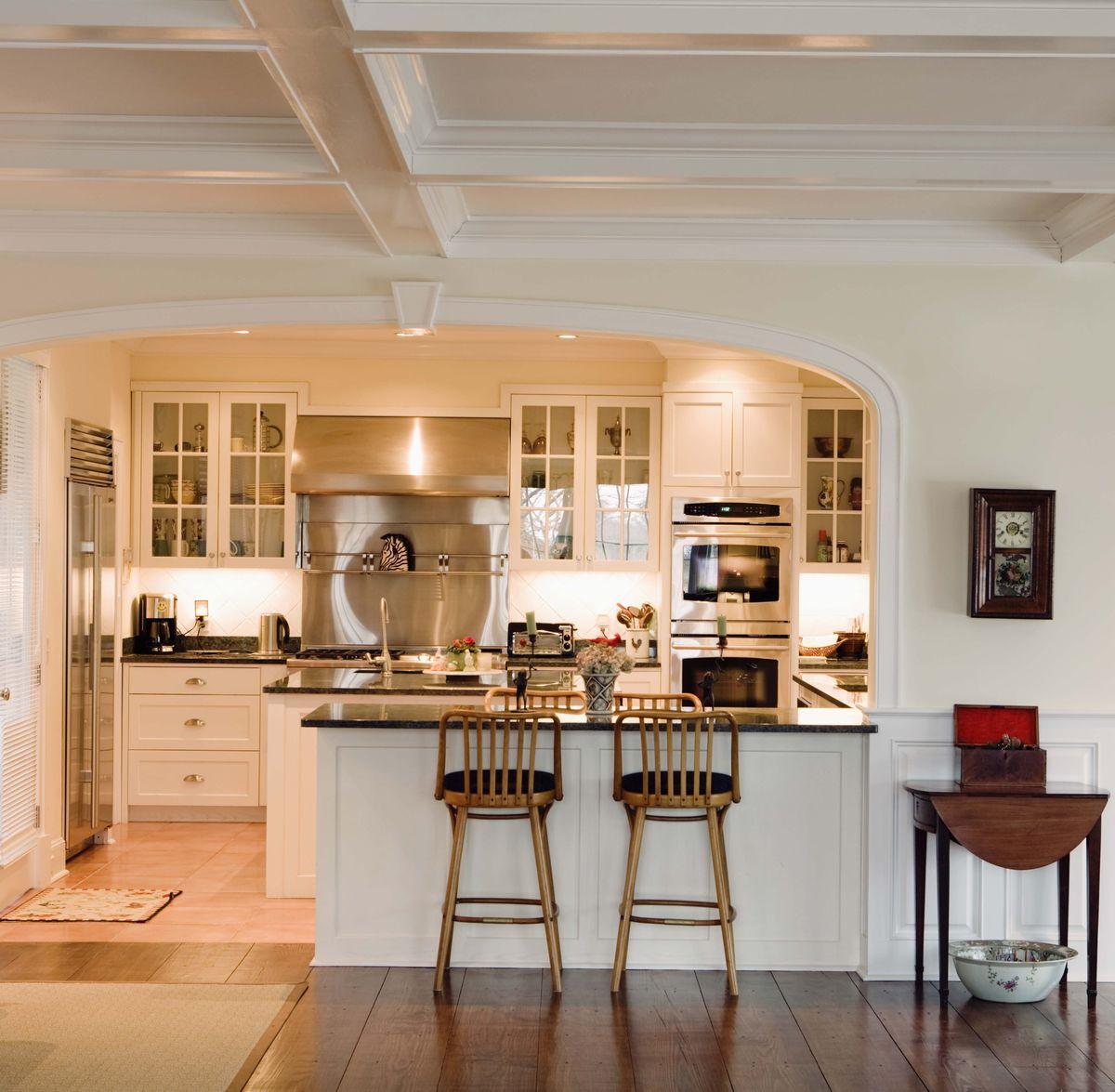 实木橱柜,欧式风格,吧台,定制家具,原木家具图片