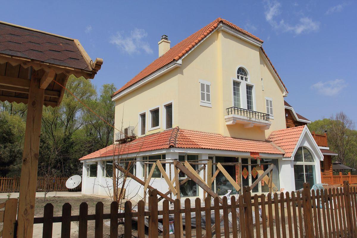 欧式建筑,欧式别墅,俄式建筑,巴洛克建筑,砖木结构别墅,乡村别墅图片