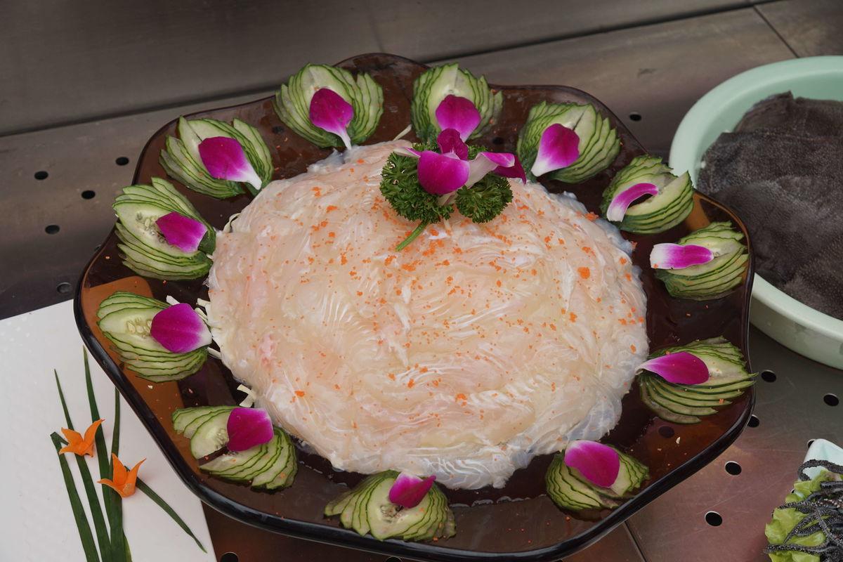 鱼,鱼片,新鲜,美食,火锅配菜,火锅菜品图片
