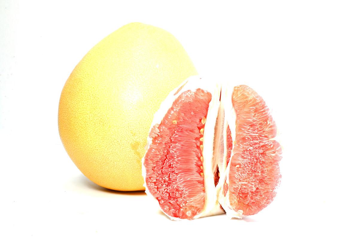 红心柚子图片