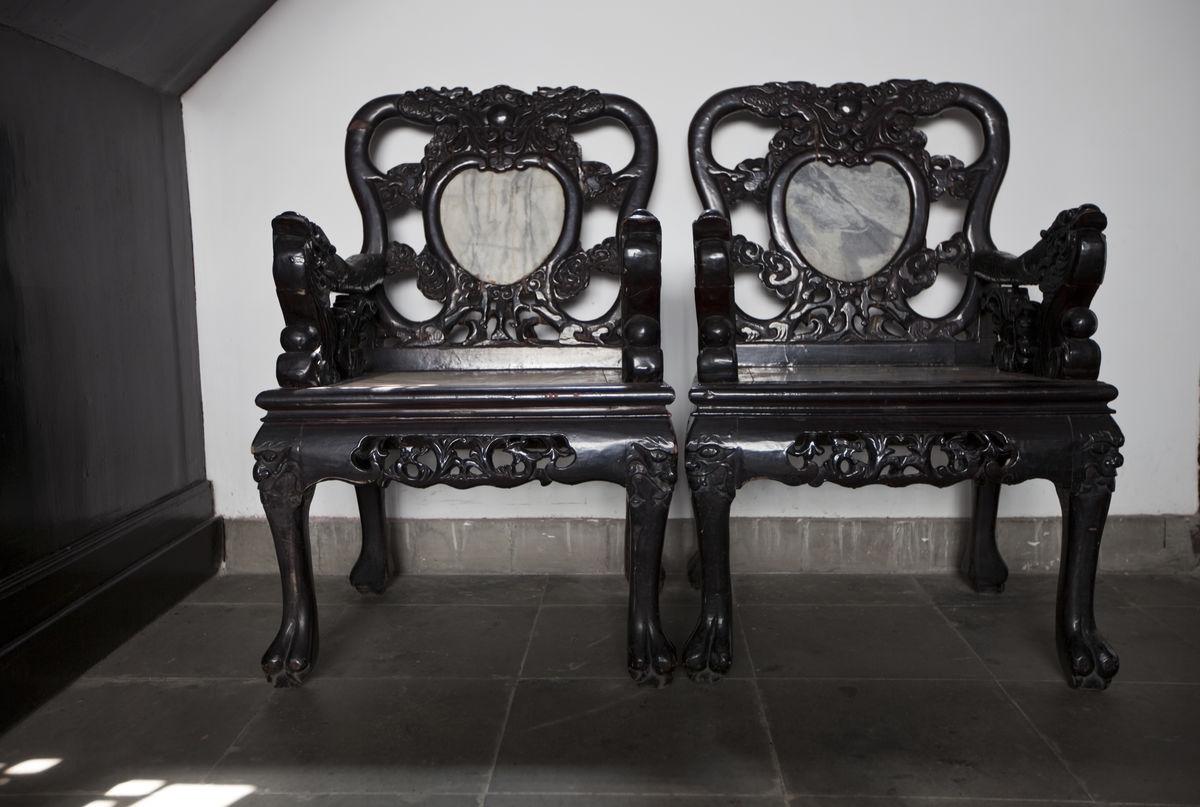 中式家具 椅子 南京民俗博物馆图片