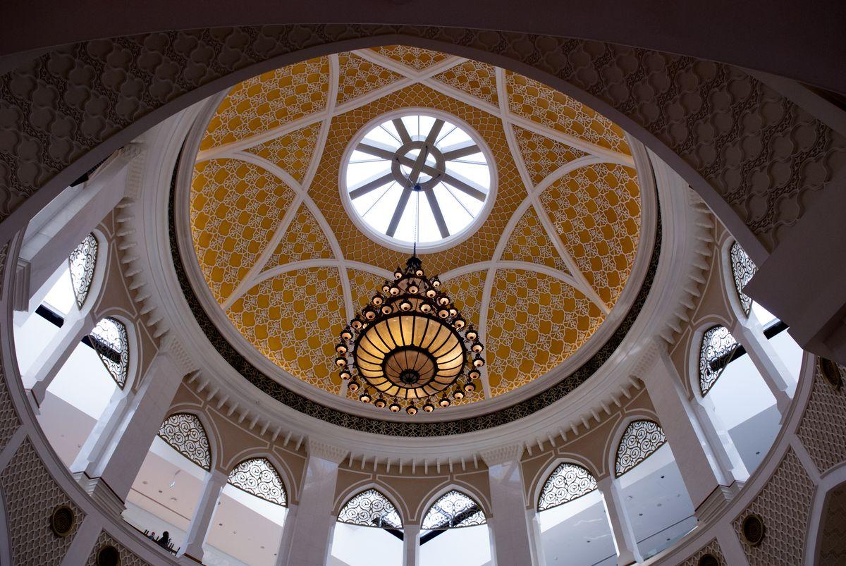 阿拉伯,高清,天花板,圆顶,欧式风情图片