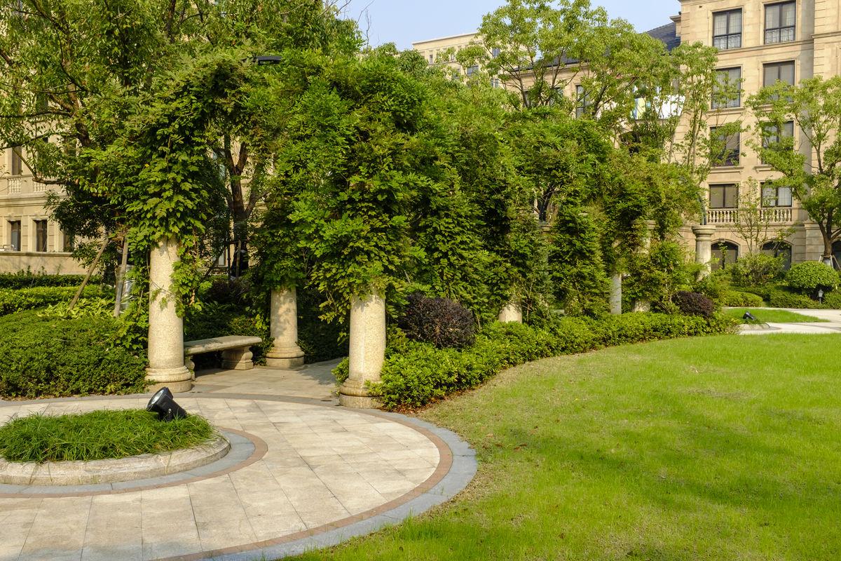 花园,建筑,欧式建筑,花园洋房,豪华住宅,庭院,园林景观,小区绿化图片