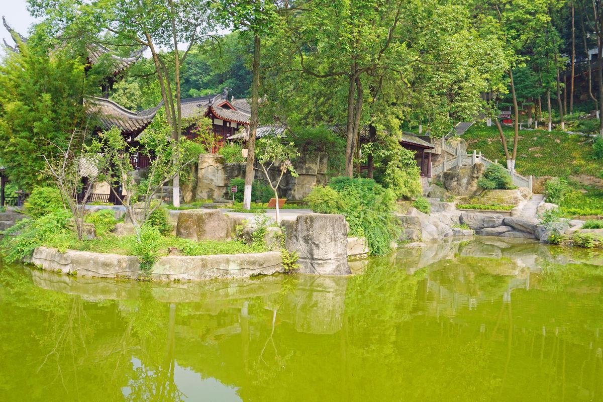 中式园林景观,水榭亭台,玉女湖,池塘湖泊水景,中国古典建筑,中式建筑图片