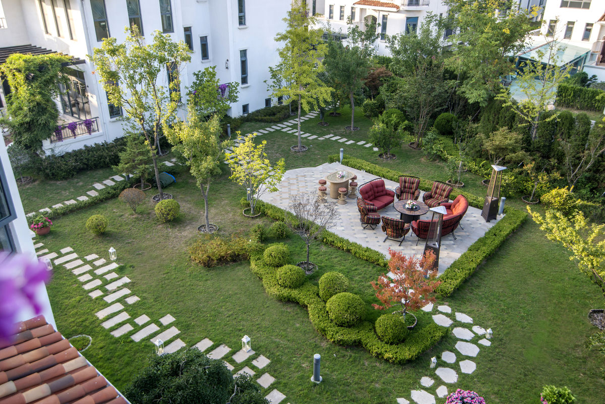 庭院,院子,别墅,小院,豪宅,庭院设计,私家花园图片
