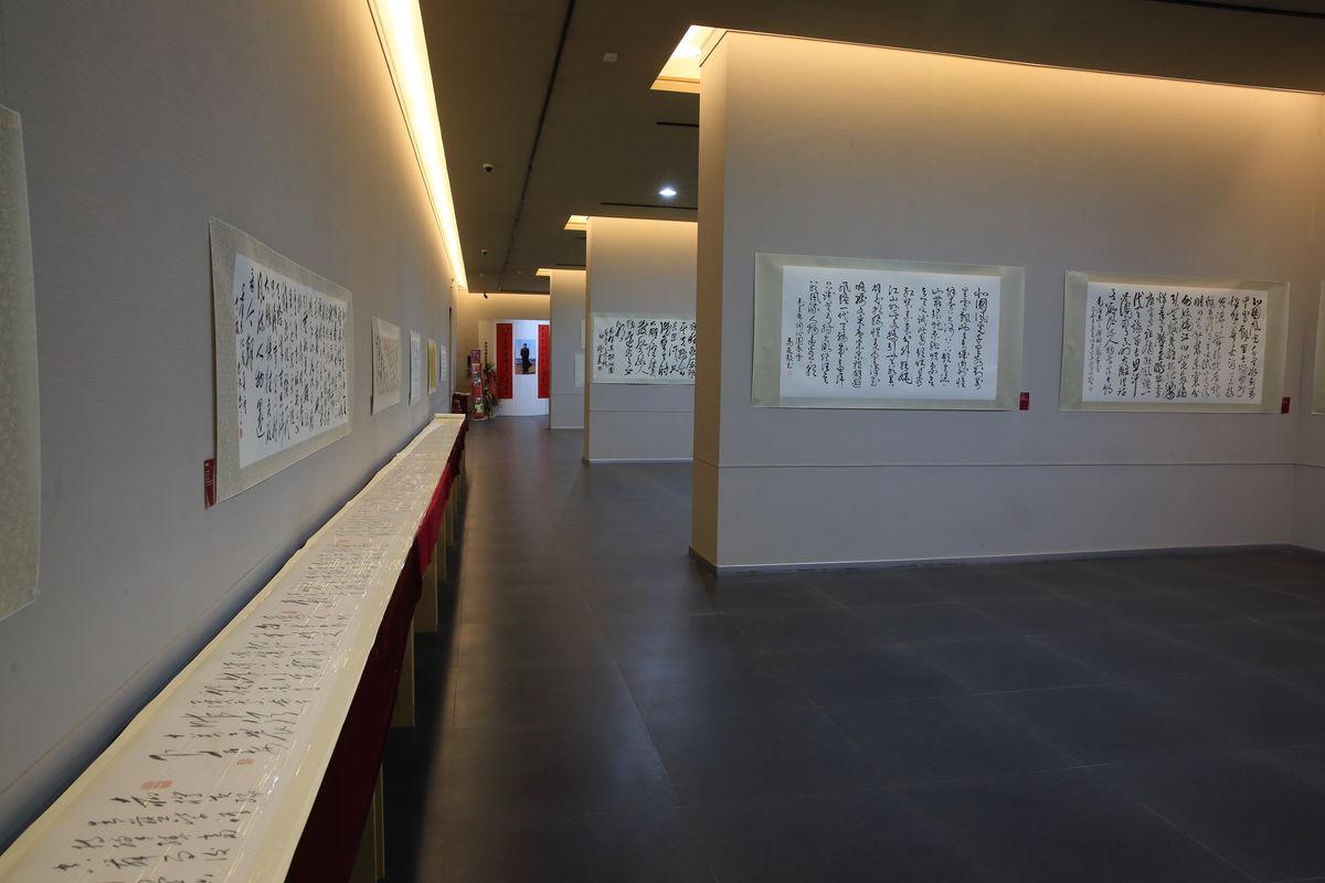展览馆,展示厅,美术馆,博物馆,艺术展,书画展厅,展厅布置,空间设计图片