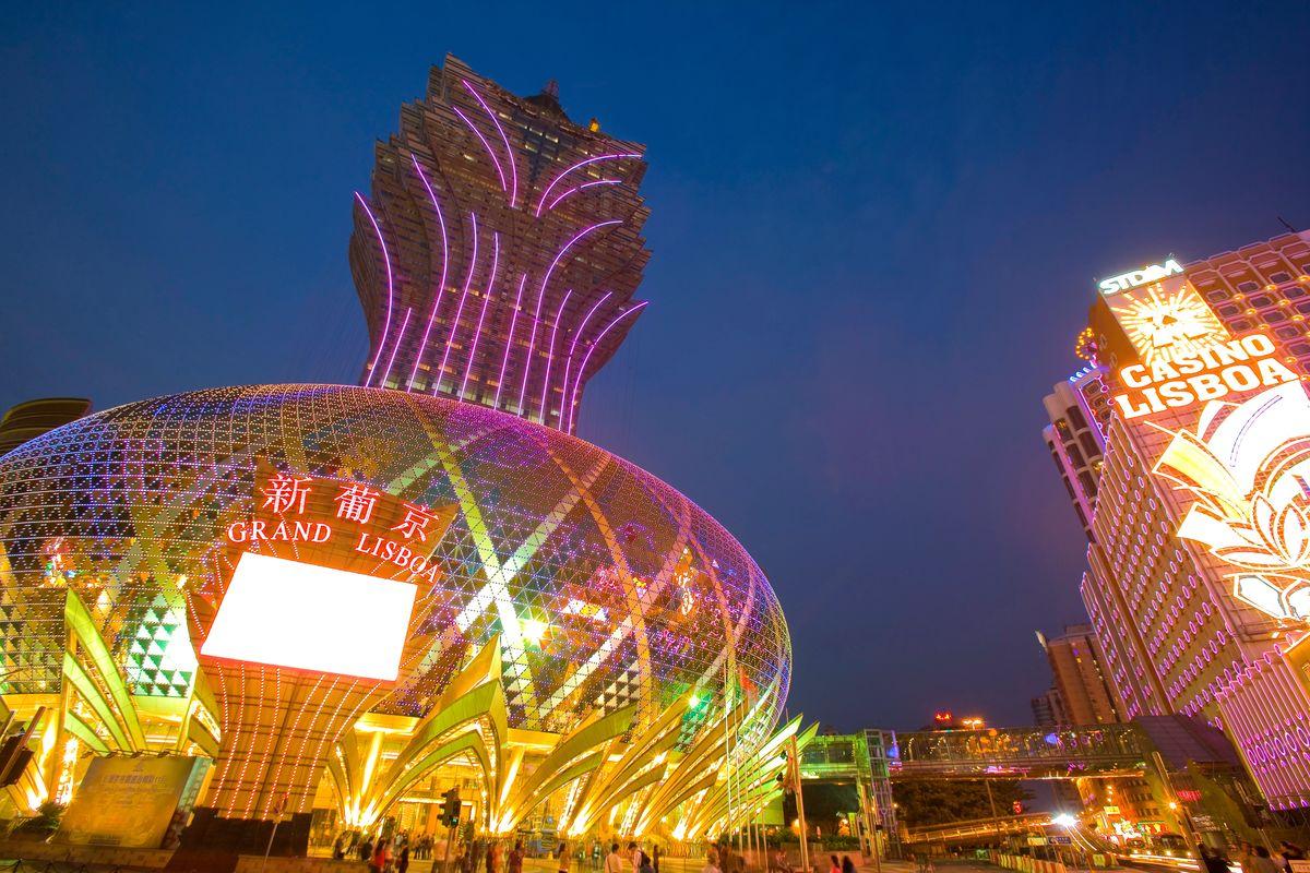 中国中国的亚洲东亚澳门新葡京酒店葡京酒店场豪华建筑