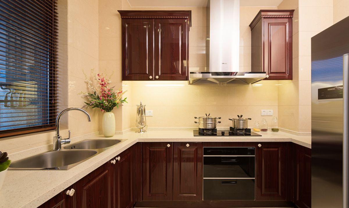 定制橱柜,橱柜设计,整体家具,吸油烟机,欧式风格柜,消毒柜,实木橱柜图片