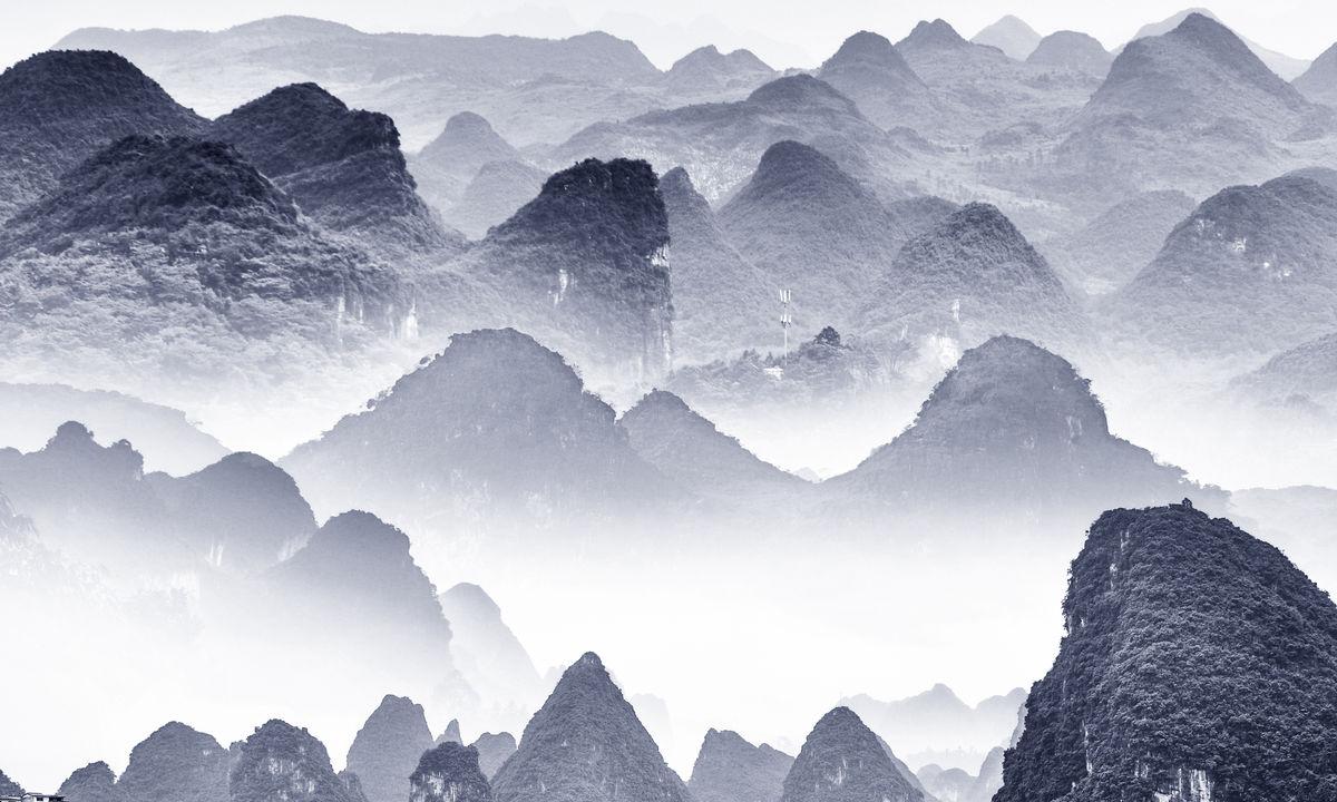 写意,装饰画,中国风,水墨意境,水墨山水,写意画新中式装饰画,沙发图片