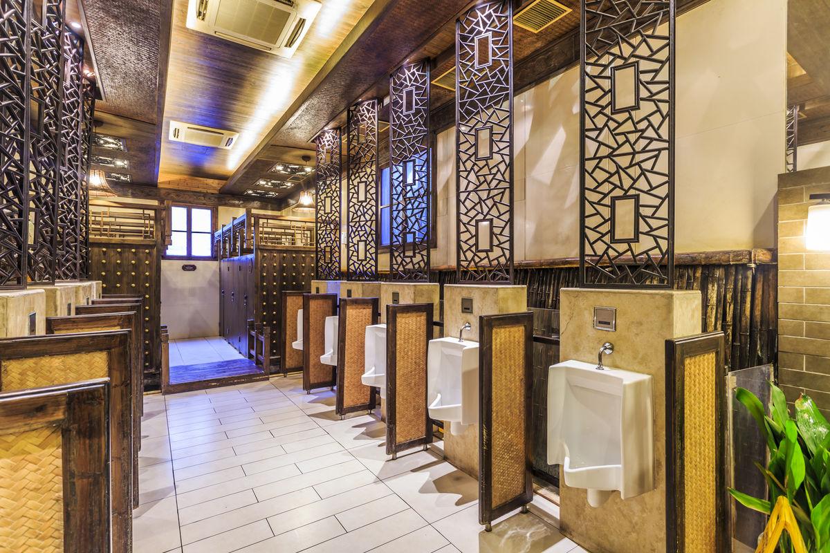 卫生间,洗手间,中式风格,装修装潢,洗手间效果图,公厕设计,中式公厕图片