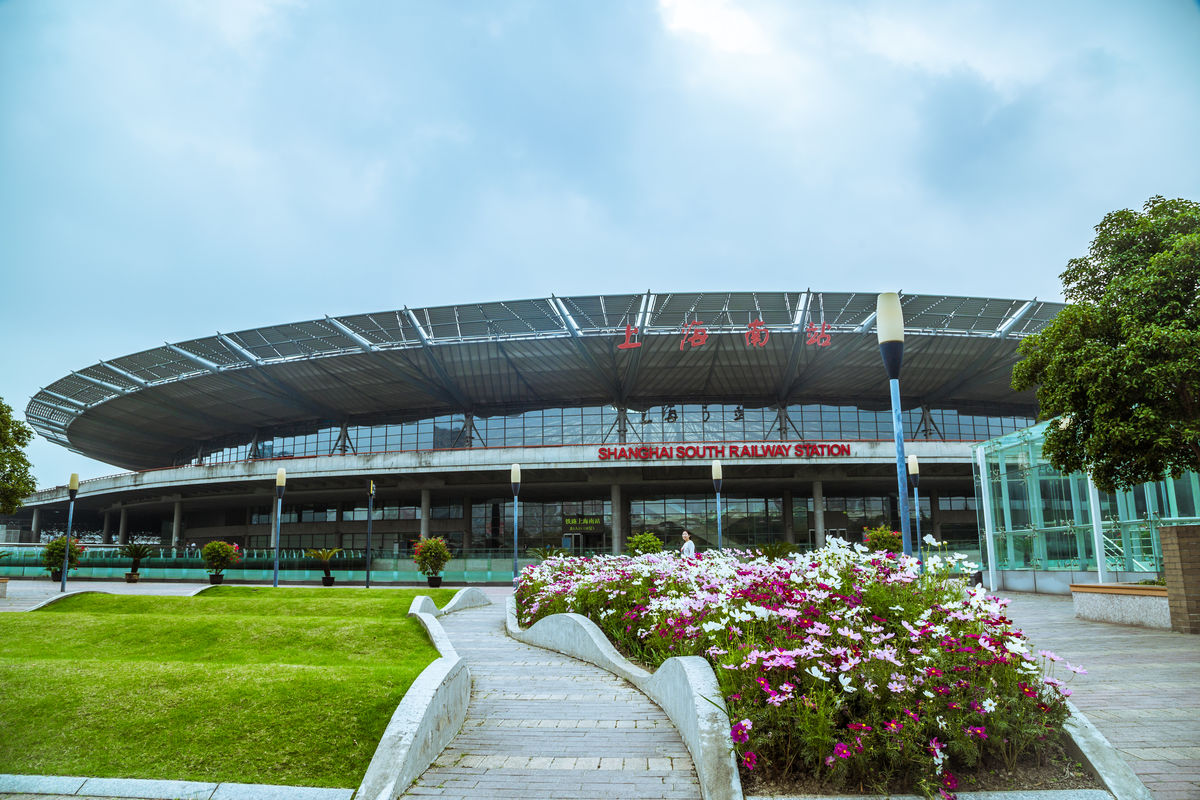 上海南站火车站_上海,火车站,上海南站,交通枢纽,地铁站,候车大厅,到达大厅,地标建筑