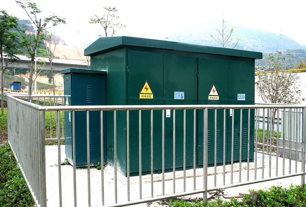 静电喷涂箱式变电站图片