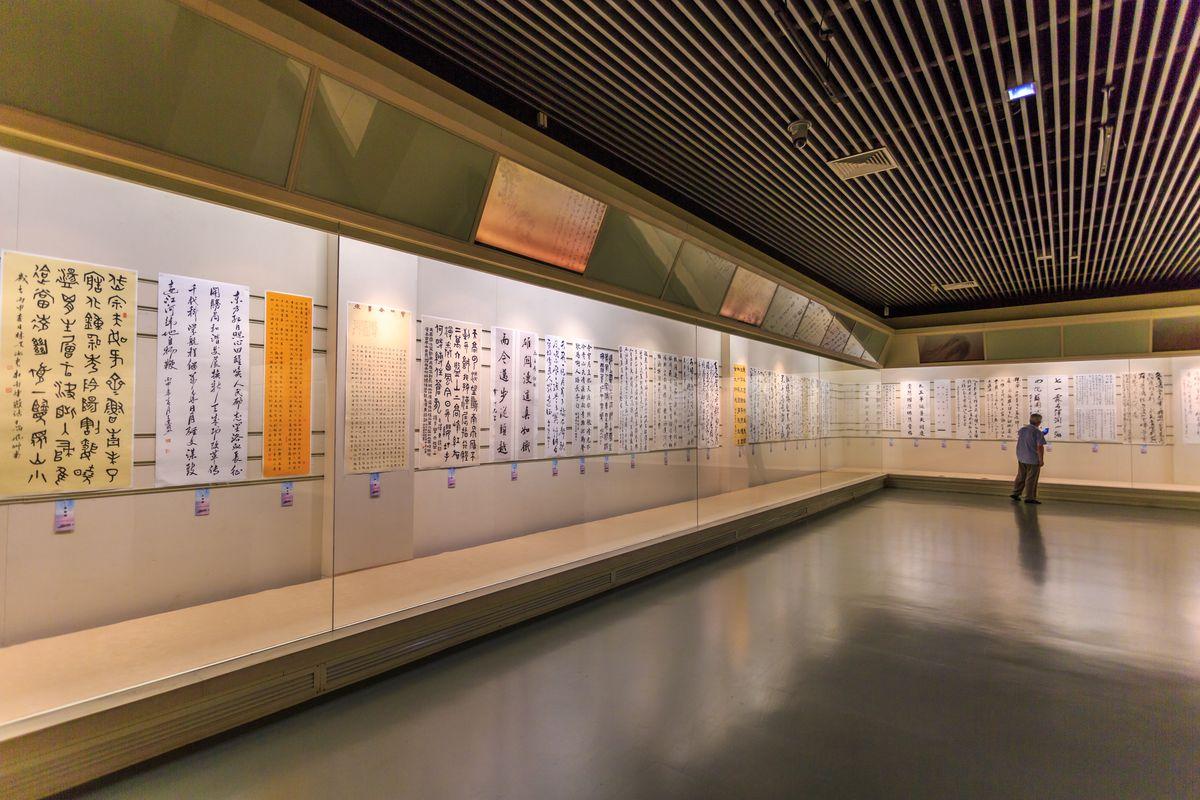 书画展厅,文物展厅,常州历史文化,博物馆内景,博物馆装修设计,展览馆图片