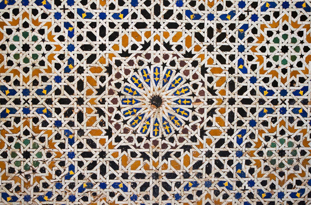 阿拉伯马赛克图片
