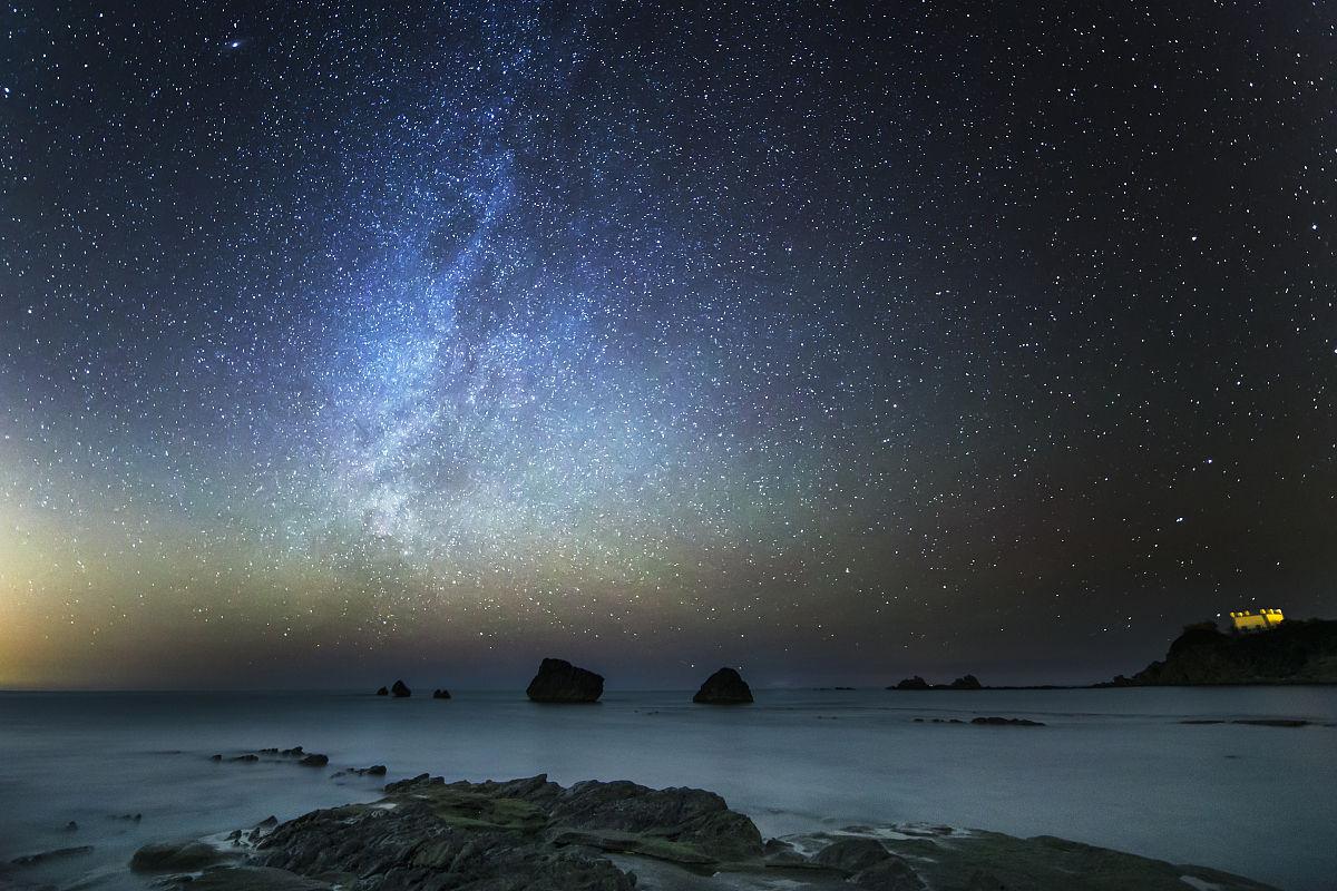 星空在海,mazzaforno,切法卢,意大利