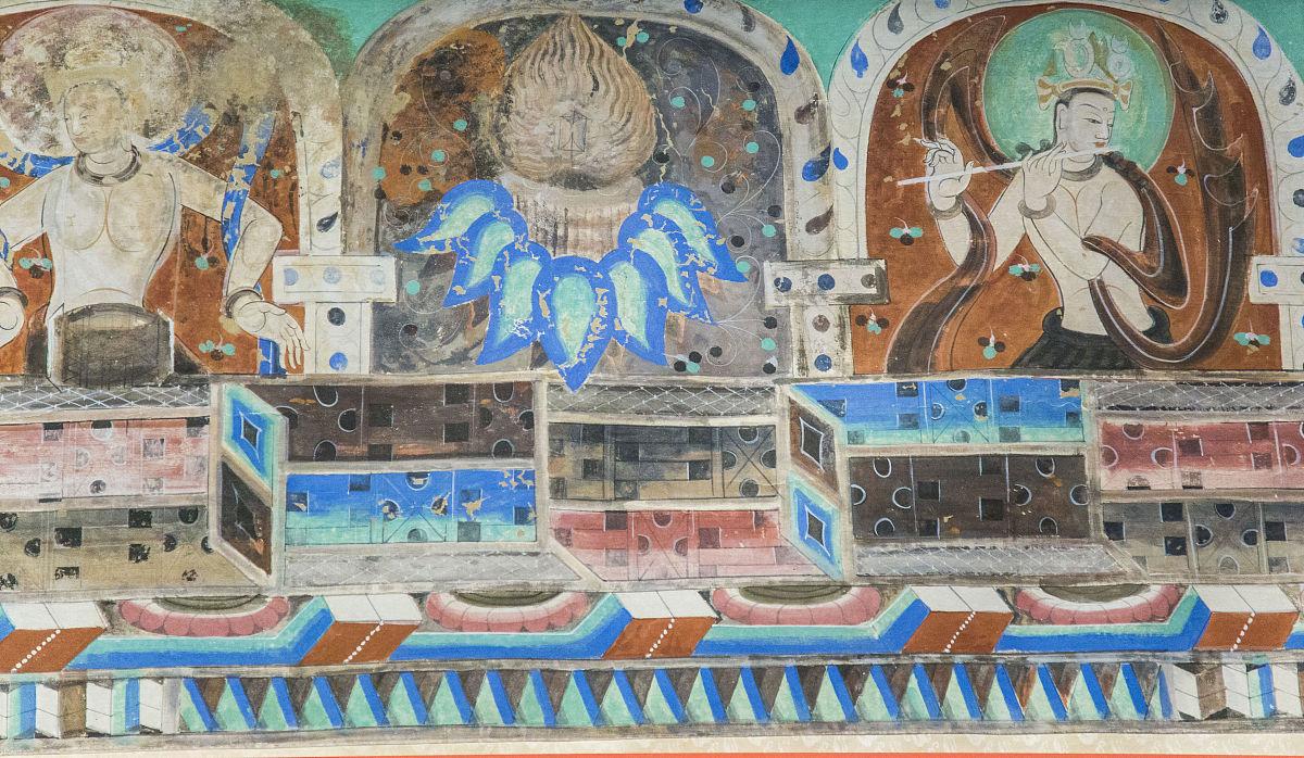 敦煌壁画图片