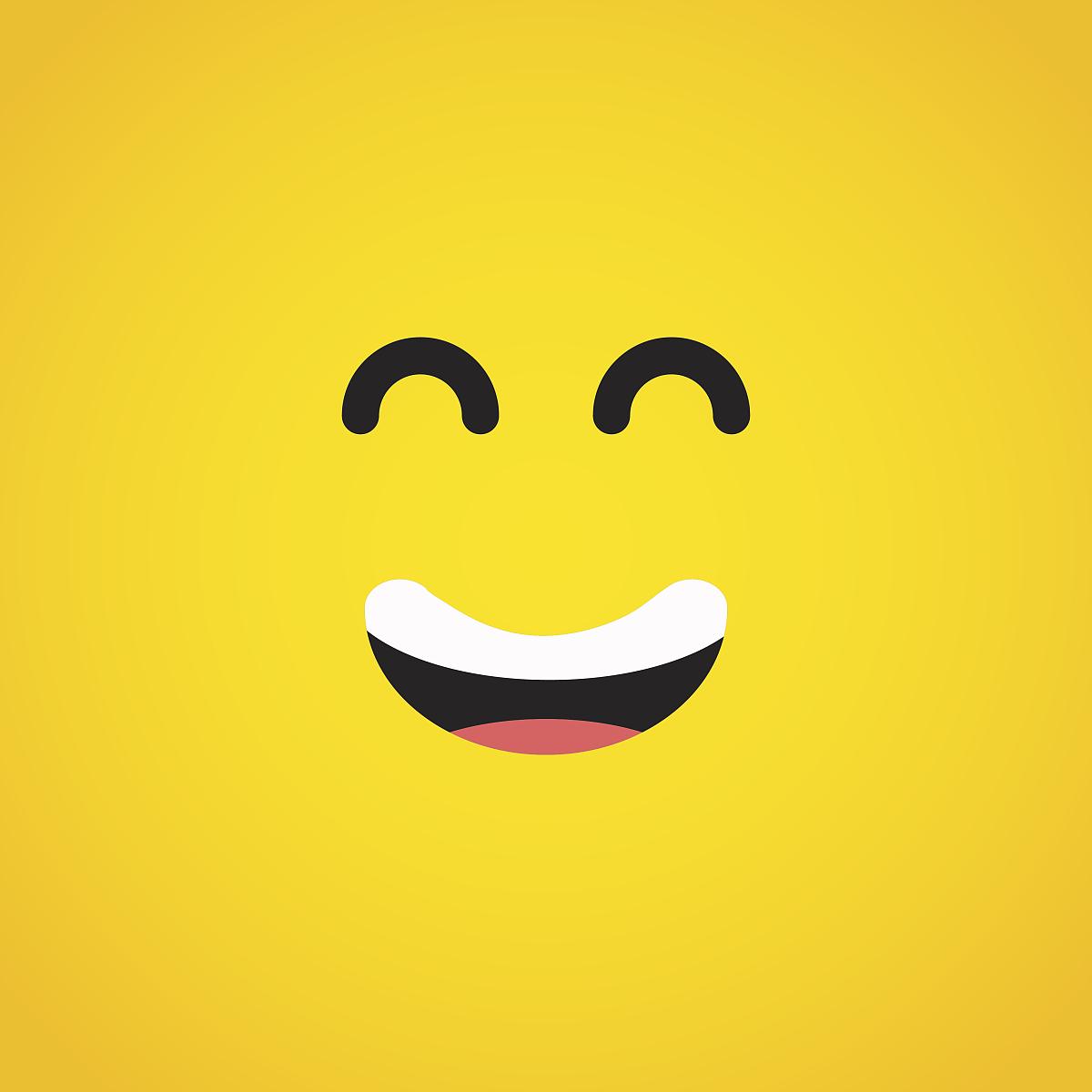 微笑的表情字符图片