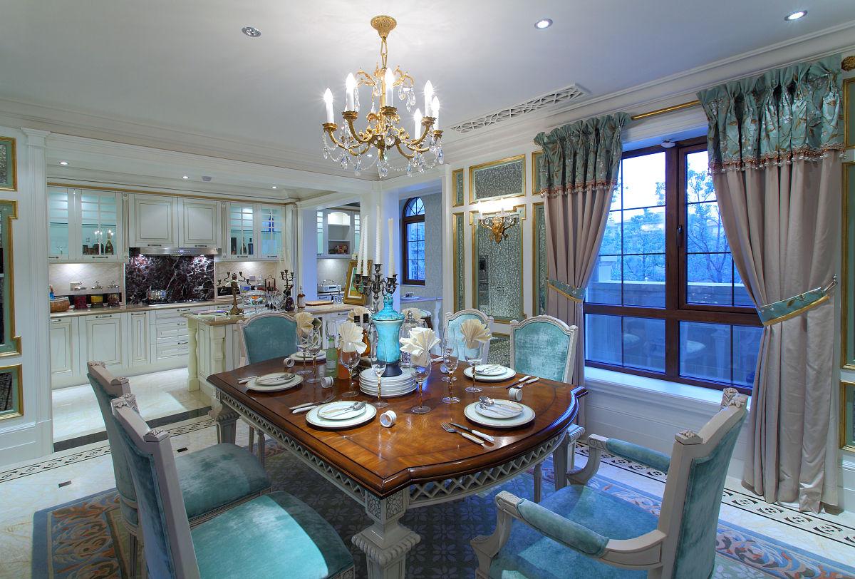 法式餐厅厨房图片