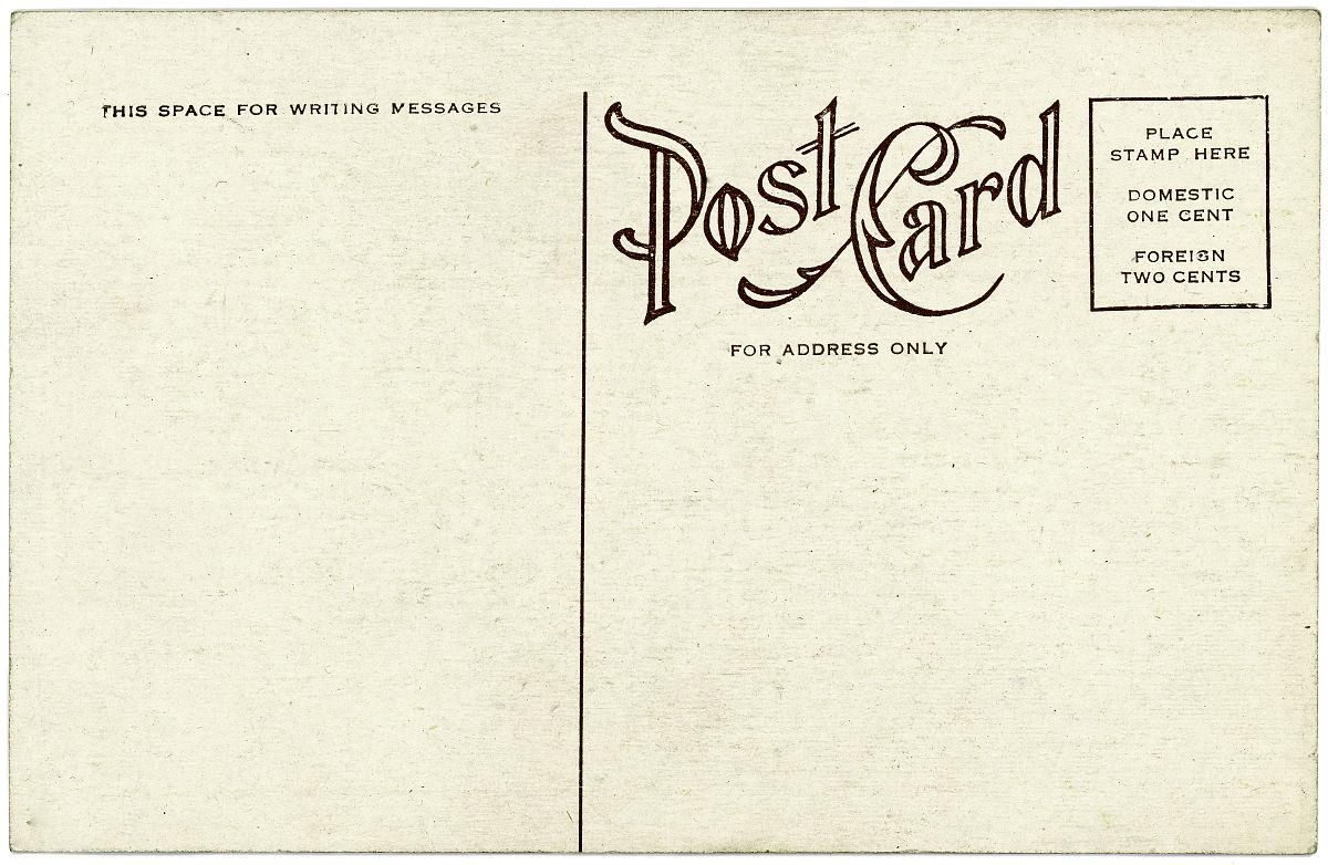 明信片背面的空白米色背景图片图片