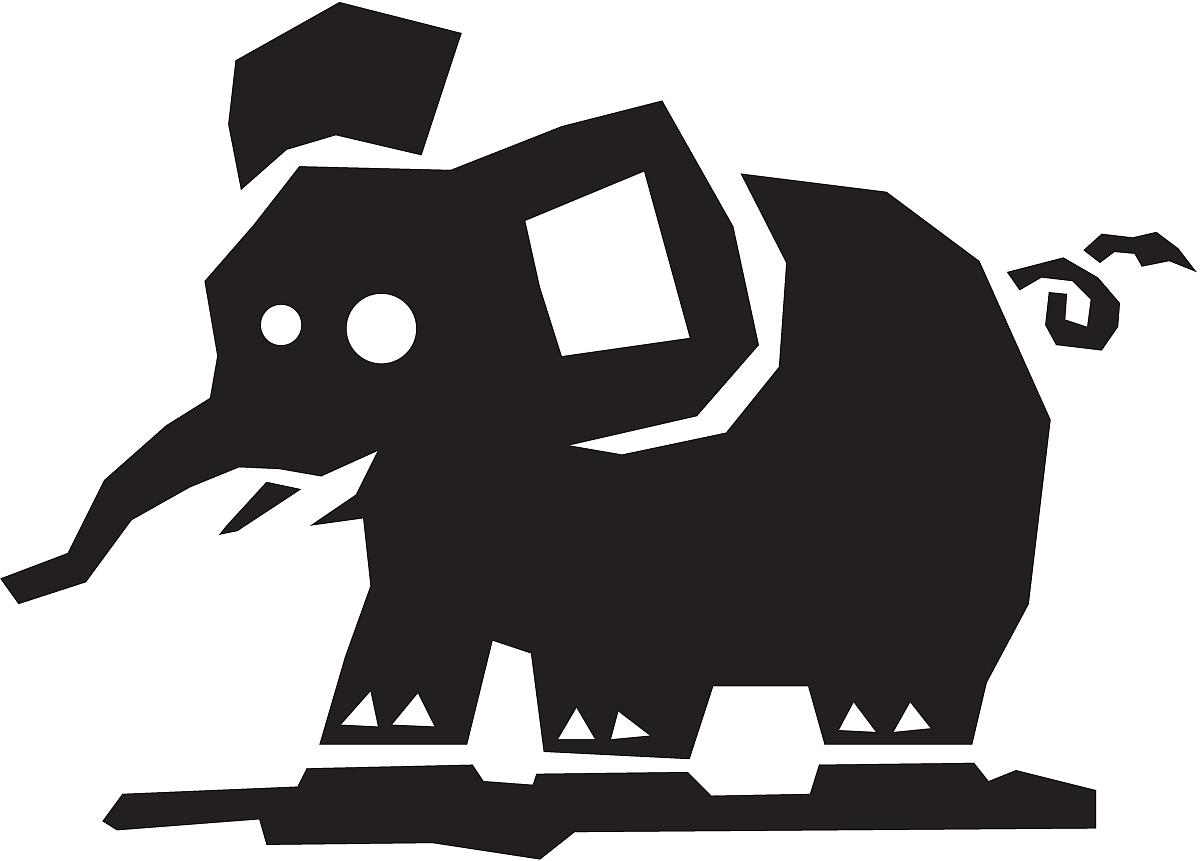 古怪的大象图片