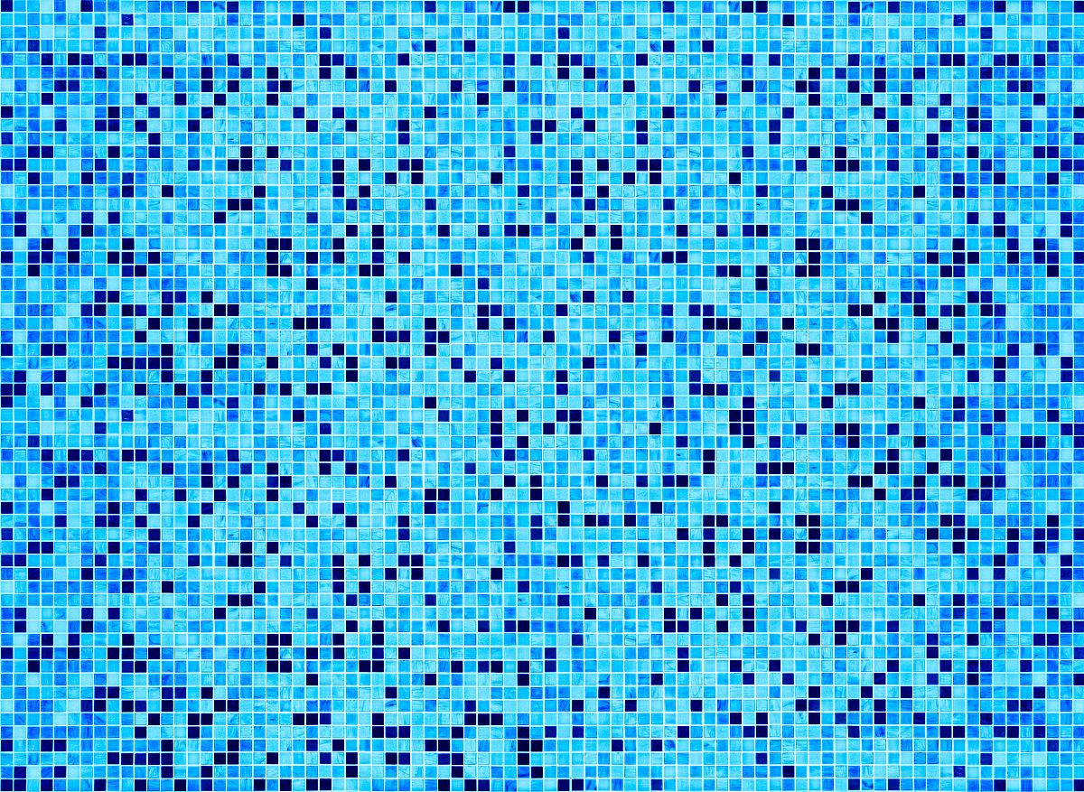 无人,公共游泳池,酒店游泳池,住宅房间,蓝色,格子,抽象,青绿色,像素化图片
