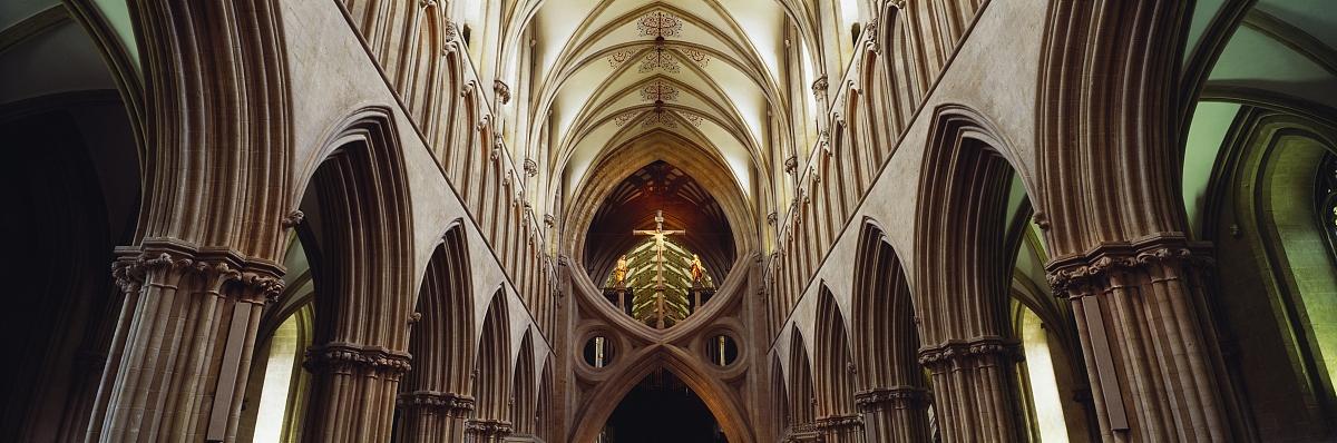 时代,中世纪时代,状态描述,著名景点,欧洲北部,威尔斯,维尔士大教堂图片