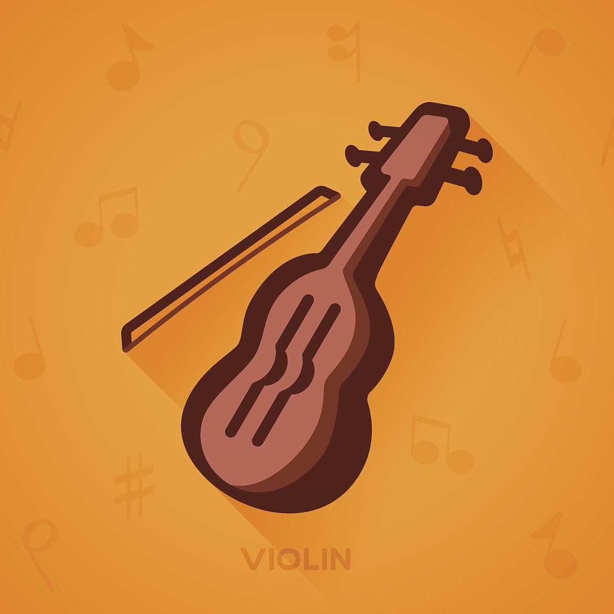 小提琴音乐图片