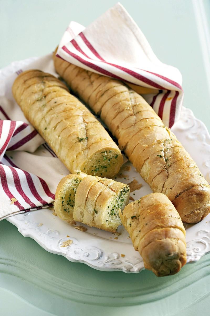 香草牛油烤法式面包图片