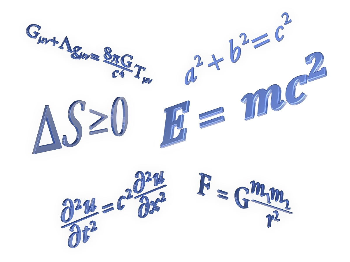 水平画幅,数学符号,公式,彩色图片,数学,物理学,图像图片