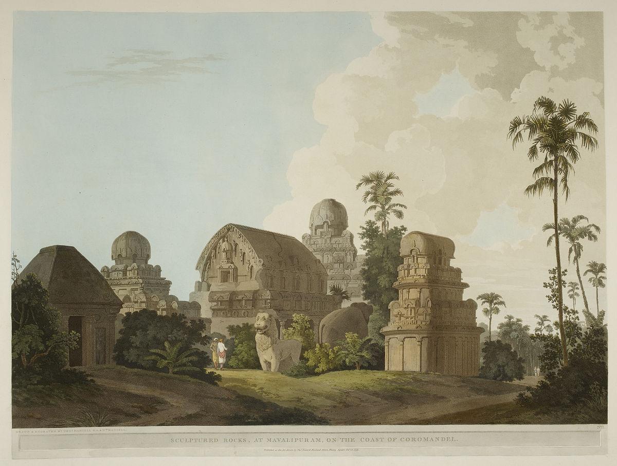 印度古风图片