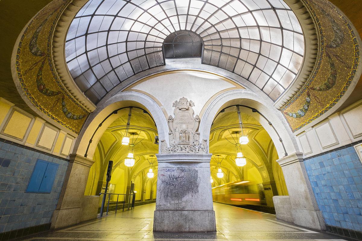 海德堡广场站在柏林地铁系统图片