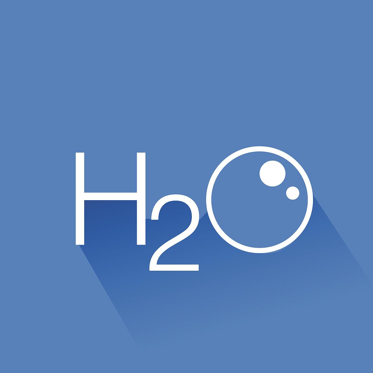 水,h2o图标