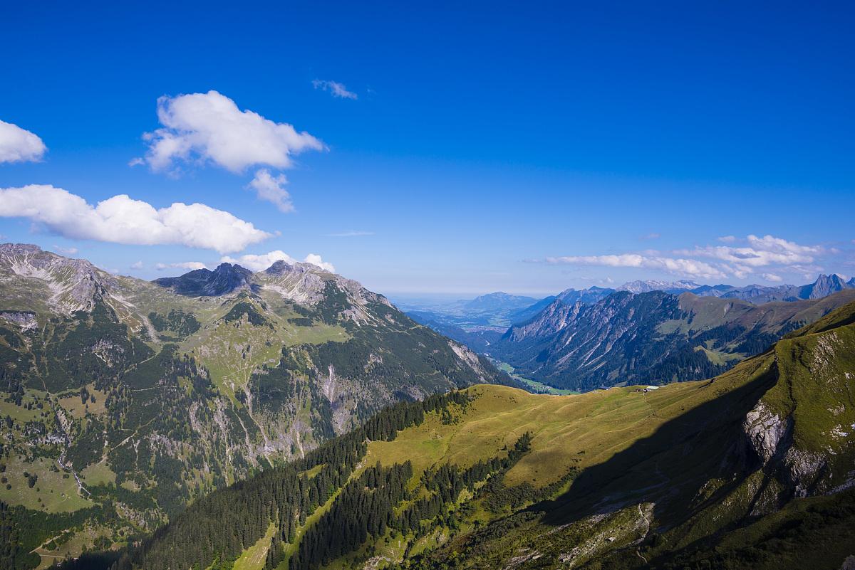 德国巴伐利亚stillach谷rappensee小屋看到