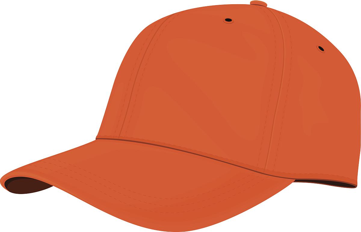 帽子_橙色的帽子