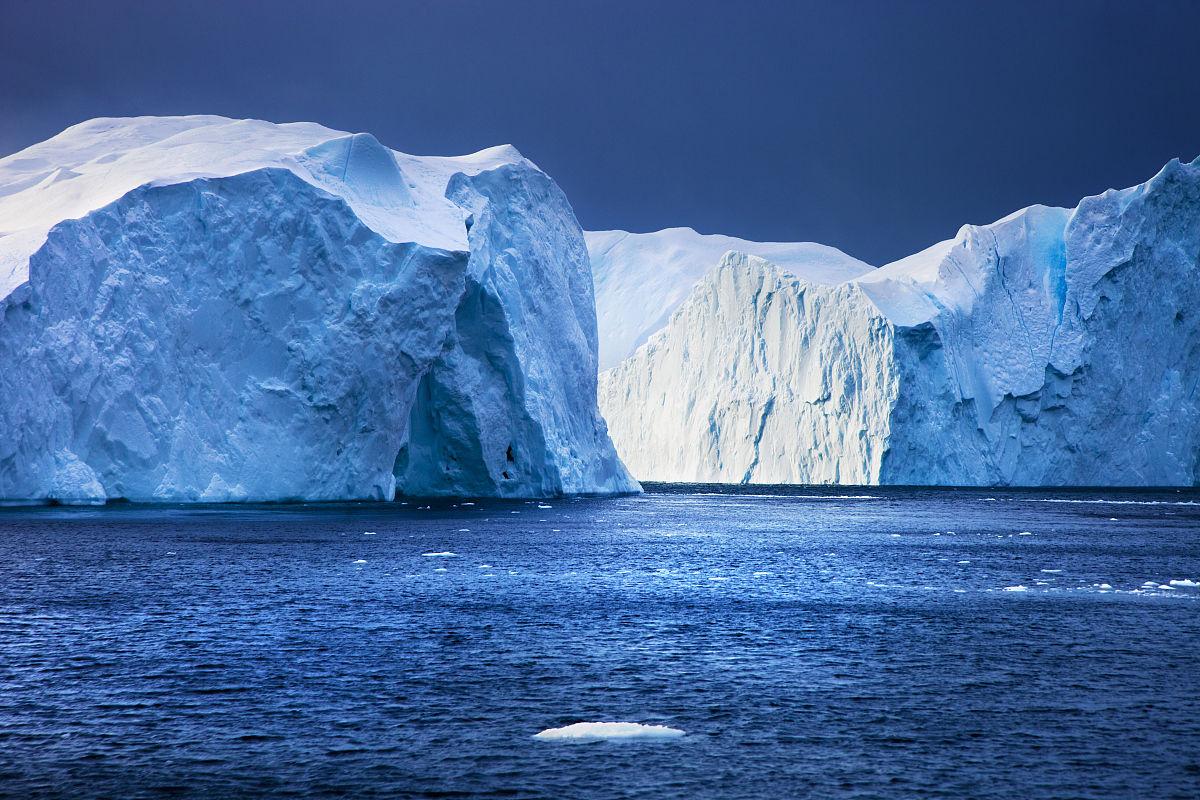 水平画幅,北美,格陵兰,迪斯科湾,全球变暖,摄影,伊路利萨特,联合国图片