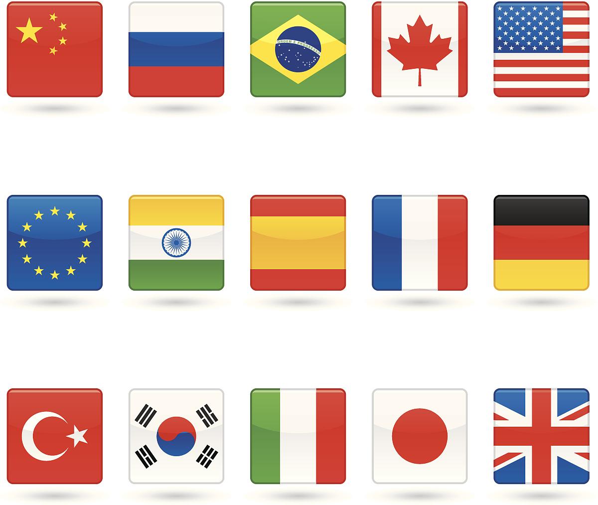 计算机图标,欧盟旗,意大利国旗,不列颠国旗,美国国旗,加拿大国旗,中国图片