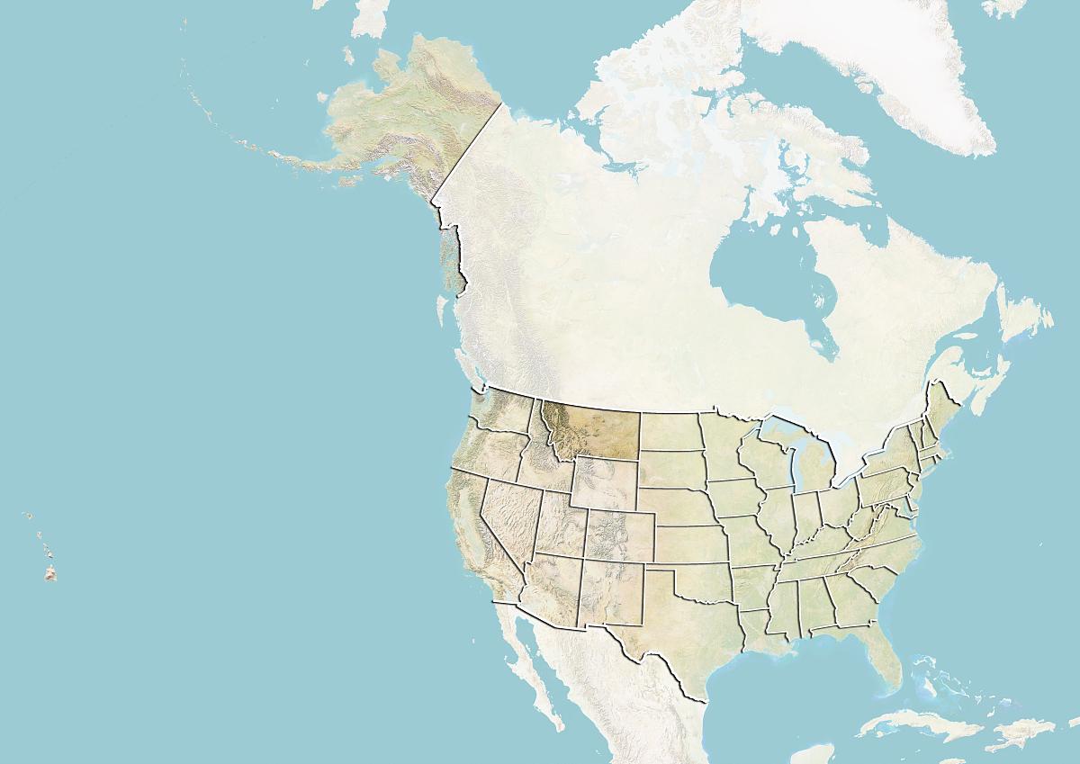 州�9k�yley�.���X{�zy_美国和蒙大纳州地势图