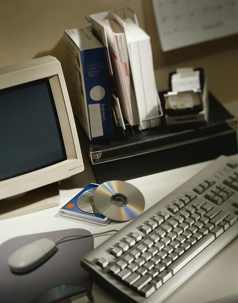 显示器,计算机,空白的,屏幕,计算机部件,光驱,图像,设计,台式个人电脑图片