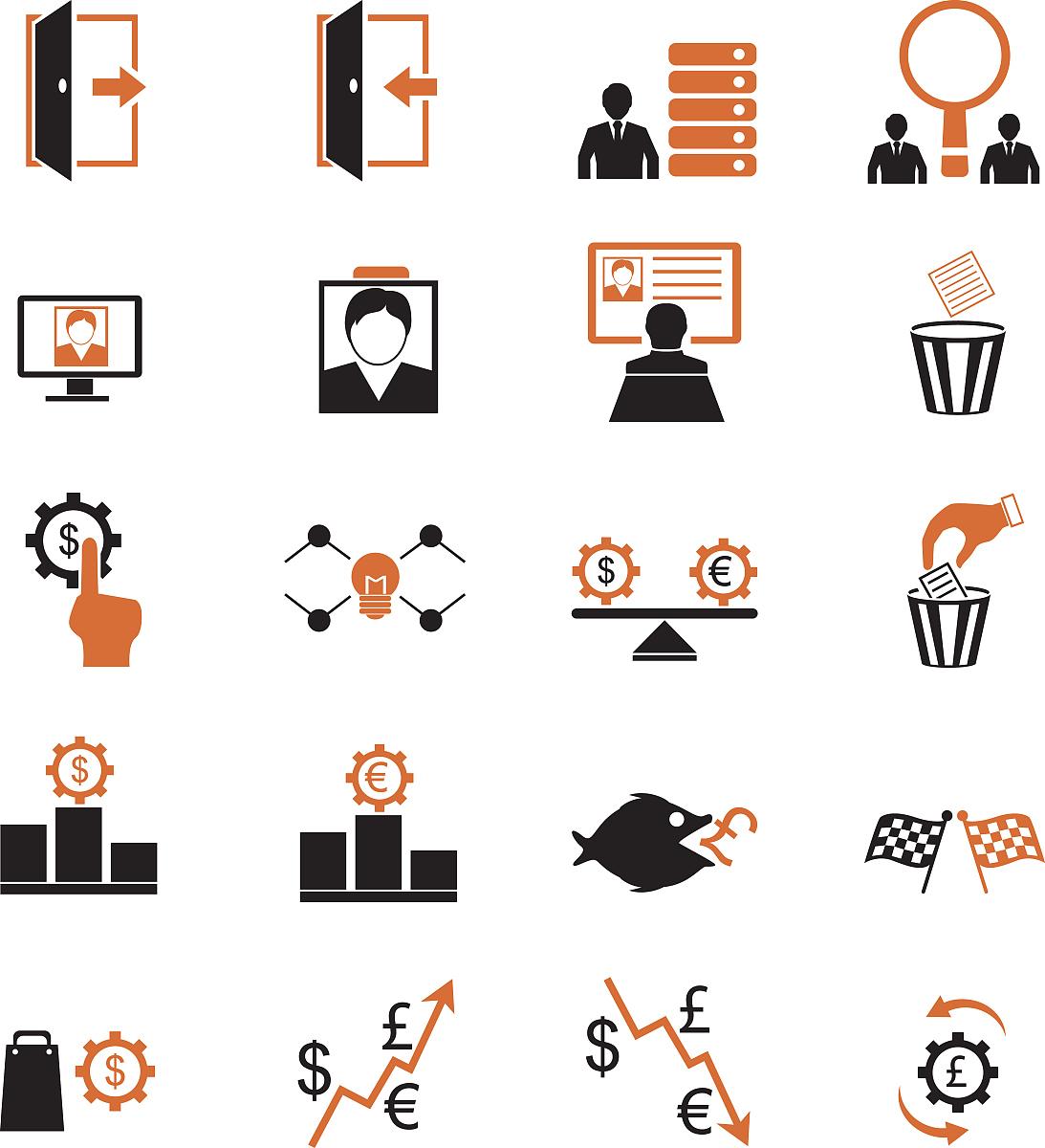 人力资源管理图标图片