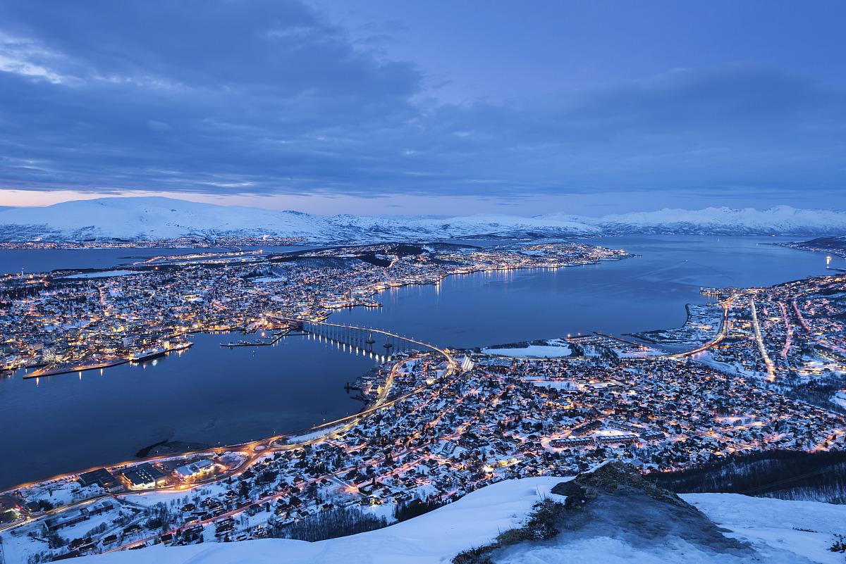 寒冷,斯堪的纳维亚,挪威,斯堪狄纳维亚半岛,曙暮光,雪,北欧,建造物图片
