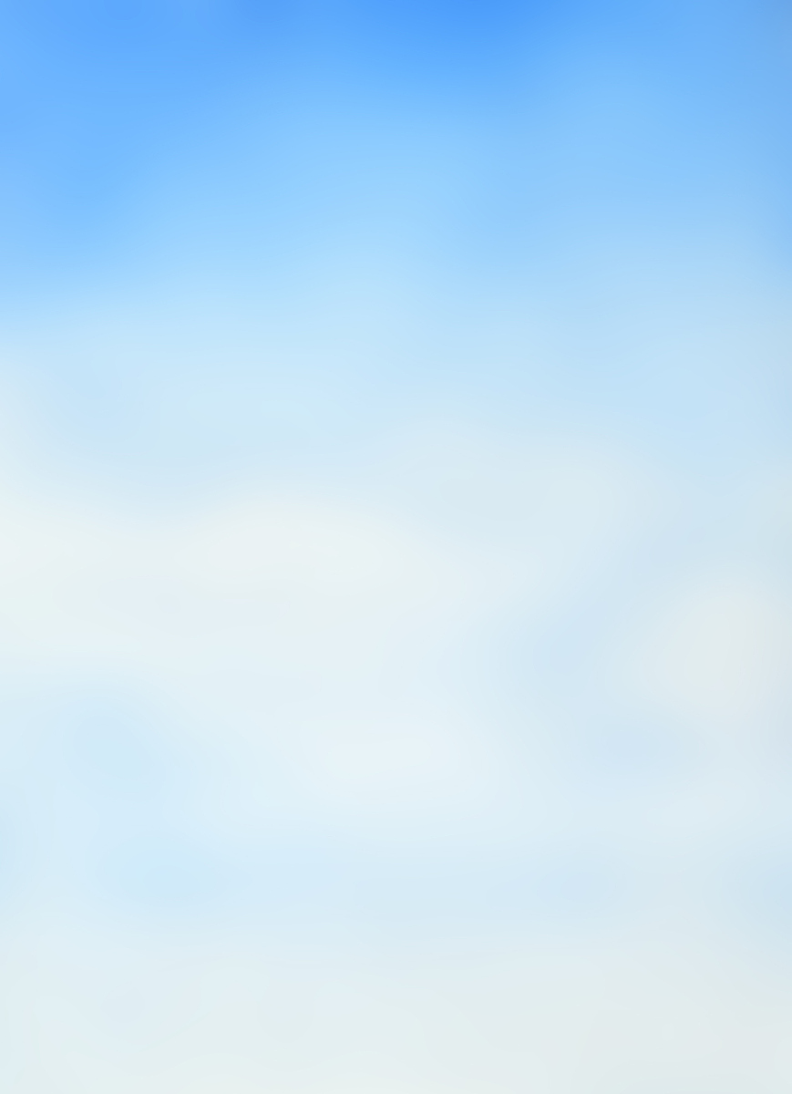 手绘柔和梦幻蓝天图片