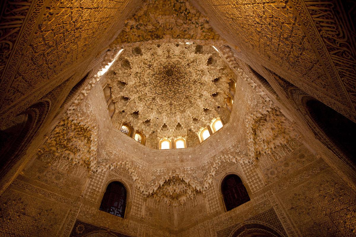 建筑,摄影,宫殿,与摄影有关的场景,远古的,格拉纳达,复杂,设计,室内图片