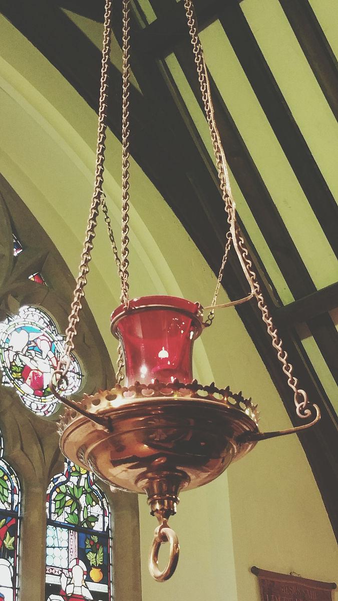 教堂天花板吊顶图片