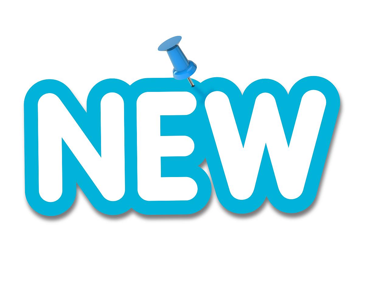 新�7��\�N�_将新标签固定在纯白色背景上